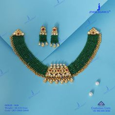 Shine your neckline with these shining beauty. Get In Touch With us on Antique Jewellery Designs, Gold Jewellery Design, Bead Jewellery, Diamond Jewellery, Emerald Jewelry, Pearl Jewelry, Gold Jewelry, Indian Jewelry, Gold Necklaces