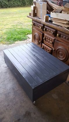 1000 ideas about table basse en palette on pinterest coffee tables pallet - Fabriquer table basse en palette ...