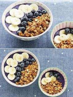 Delicious and nutritious! Immunity Plus Smoothie Bowls. | via The Honest Company Blog