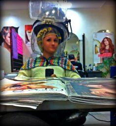 #myselfie #vintage #hairstyle