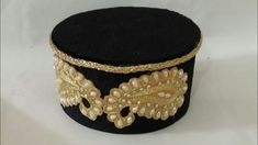 صناعة طربوش ل لباس  الكاراكو وحتي لقفطان من  لكارطون ولا أسهل - YouTube Cuff Bracelets, Captain Hat, Couture, Hats, Recycling, Jewelry, Dresses, Fashion, How To Sew
