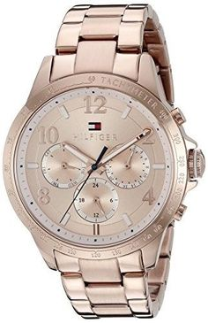 Women's Wrist Watches - Tommy Hilfiger Womens 1781642 Dani Analog Display Japanese Quartz Rose Gold Watch -- You can find more details by visiting the image link. Tommy Watches, Tommy Hilfiger Watches, Tommy Hilfiger Women, Gold Watches Women, Watches For Men, Wrist Watches, Rolex Day Date, Elegant Watches, Luxury Watches