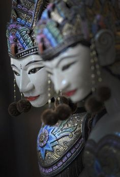 Indonesian Traditional Mask - it's called Topeng