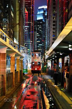 Hong Kong Central tram station#Travel #Money http://tinyurl.com/p9qy9md