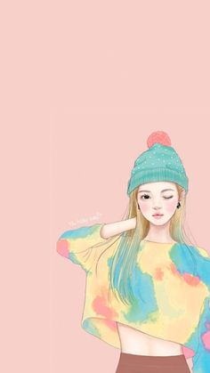 BadassGirlsQuotes Wallpapers for Girls, GirlyWallpapers Cute Wallpaper Backgrounds, Love Wallpaper, Cute Wallpapers, Badass Girls Quotes, Human Drawing, Cartoon Sketches, Kawaii Art, Korean Artist, Anime Art Girl