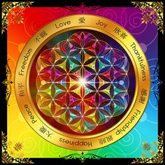 """The word """"mandala"""" is a sanskrit word for """"circle"""". Mandalas began in the Hindu and Buddhuist religions as spiritual symbols, particularly to repr. Hamsa, Spiritual Beliefs, Spiritual Wisdom, Spiritual Awakening, Flower Of Life, Art Pages, Fractal Art, Mandala Art, Crystals"""