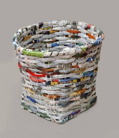 cool Лучшие способы плетения из газетных трубочек (50 фото) — Рекомендации для начинающих