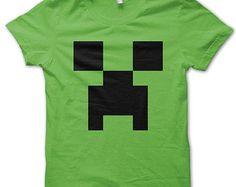 Creeper Minecraft T-shirt