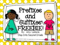 a great free cut, sort and paste activity for students to do in their reading notebook after a lesson on prefixes and suffixes.