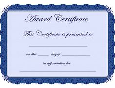 Certificate of Awesomeness   Free printable certificates ...