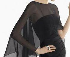 chal para vestido fiesta - Buscar con Google Gala Dresses, Modest Dresses, Nice Dresses, Evening Dresses, Shrugs And Boleros, Crochet Shawls And Wraps, Couture, Groom Dress, Celebrity Weddings