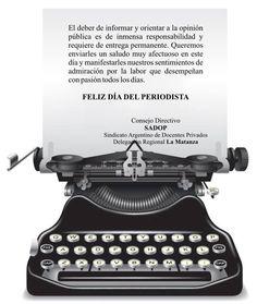 7 de junio de 2013 - Feliz día del Periodista