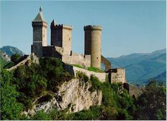 Castle of / Chateau de Foix, France