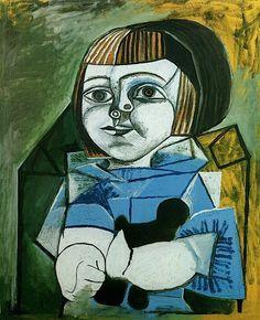 Paloma en Bleu, Ltd Ed Lithograph, Pablo Picasso - Art Commerce Kunst Picasso, Art Picasso, Picasso Blue, Picasso Paintings, Georges Braque, Francoise Gilot, Cubist Movement, Art Commerce, Atelier D Art