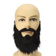 LuckyFine Black Costume Party Male Man Halloween Beard Facial Hair Professional Disguise  #Beard #Black #Costume #Disguise #Facial #Hair #Halloween #LuckyFine #Male #MensHalloweenCostumes #Party #Professional Halloween Spirit