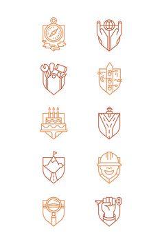 icon shields - wapenschilden
