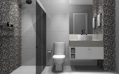 Banheiro #promob #interiordesign #CamilaLeite