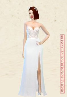 Custom creations for The Sims 4 , including furs , furniture, houses, shirts, mod , Wedding Dress , dress , top, sexy , lingerie and clothing.
