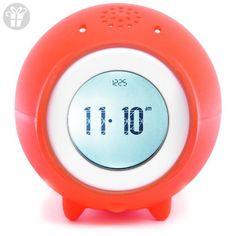 Tocky MP3 Voice Recording Alarm Clock, Red (*Amazon Partner-Link)