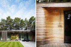 Bergman-Werntoft House, Ljunghusen, 2006  | Johan Sundberg Architectural Design  Outdoor shower!