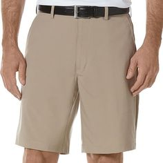 Men Golf Clothing *** PGA Tour Mens Flat Front Expandable Waist Golf Shorts 40 Khaki ** Wish to know a lot more, click the picture. (This is an affiliate link). Mens Golf Outfit, Golf Fashion, Men Fashion, Fashion Ideas, Golf Wear, Golf Pants, Range Of Motion, Ladies Golf, Women Golf