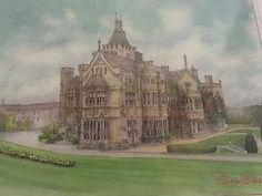 Watercolour Painting Jigsaw Puzzle Roisin Oshea Ireland Adare Manor Limerick