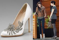 The Swan Princess ~Manolo Blahnik YOU DON'T DESERVE THEM! YOU CAN'T EVEN WALK IN THEM!