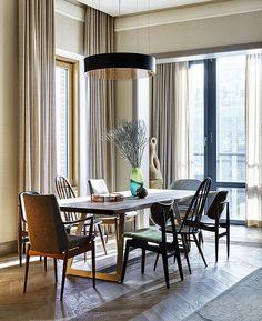 Надежда и Гиви Ананьевы: европейская квартира в Москве • Интерьеры • Дизайн • Интерьер+Дизайн