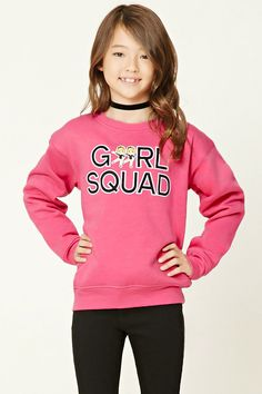 "Sudadera ""Girls Squad"""