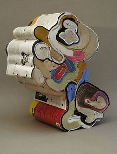Jonathan Callan book sculpture -