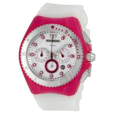 Techno Marine Ladies' Cruise Beach Chronograph Watch In Fuchsia