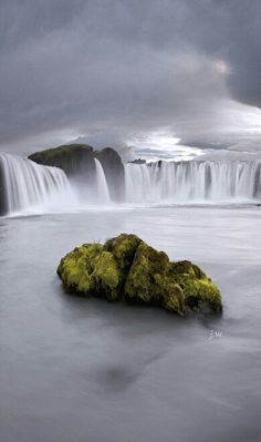 Goðafoss (Waterfall of The Gods) - Iceland.