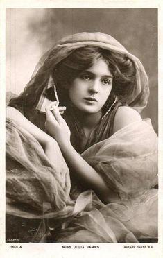 Julia James, Stage Actress