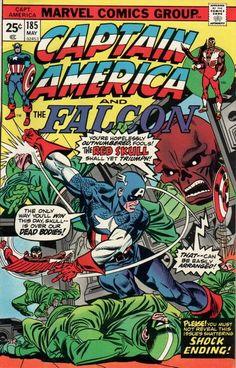 Captain America And The Falcon #185