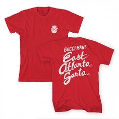 0e60457c East Atlanta Santa Head T-Shirt Atlantic Records, Gucci Mane, Atlanta,  Cricut
