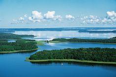 Mazury national park and lake district  Poland -  Lake Kisajno-Jezioro Kisajno