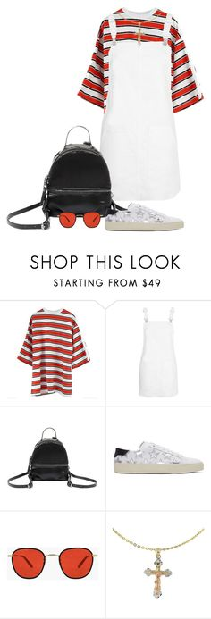 """""""Wokeuplikethis*"""" by sweatstain ❤ liked on Polyvore featuring Hood by Air, Topshop, Steve Madden, Yves Saint Laurent and Cross"""