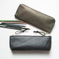 Leather Pencil / Brush Case