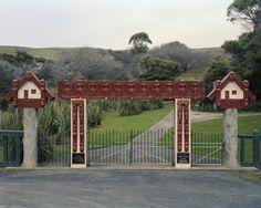 Neil Pardington Te Whare o Kāi Tahu - Centennial Memorial Gate, Otakou 2010