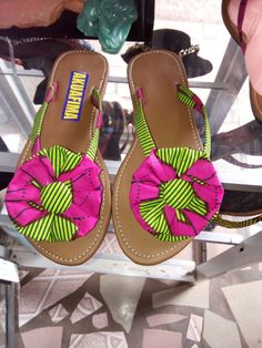 A personal favorite from my Etsy shop https://www.etsy.com/listing/262168918/african-slippers-ankara-slippers-purple