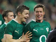 Ireland rugby -- BOD and ROG...
