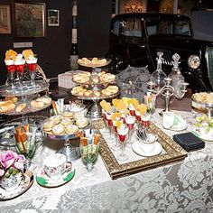 The Museum of London: Victorian dessert station by www.tinanissondesign.london