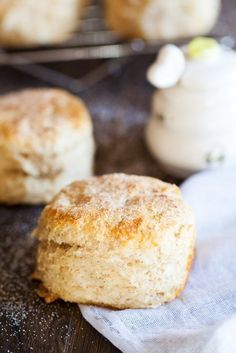 Cinnamon Biscuits with Honey Butter