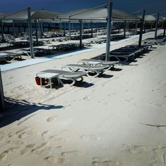 At the beach - white sand - Regnum Hotel, Belek, Turkey #regnum #hotel #belek #turkey