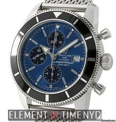 Breitling Superocean Heritage 46 Ocean Chronograph Steel Blue Dial Ref. A1332024/C817 Price On Request