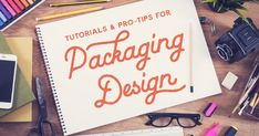 Learn How to Design Packaging: 50 Tutorials & Pro Tips - Creative Market Brochure Design, Brochure Template, Brochure Ideas, Invitation Templates, Print Packaging, Packaging Design, Bottle Packaging, Web Design, Graphic Design
