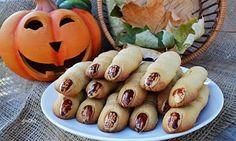 Cookies Witch's Finger # halloween food ideas'
