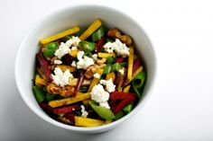 Beet and Snap Pea Salad With Ricotta
