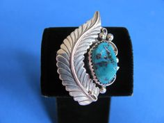 SALE Vintage sterling silver Navajo feather by BonniesGreatFinds, $89.00