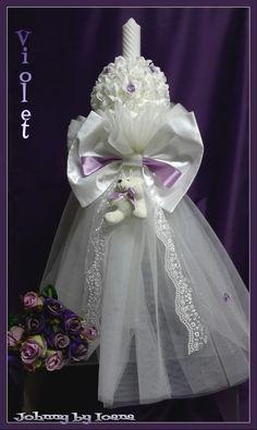 HAINUTE BOTEZ: Lumanari botez Christening Party, Girls Dresses, Flower Girl Dresses, Party Time, Baby Shower, Costume, Wedding Dresses, Flowers, Clothes
